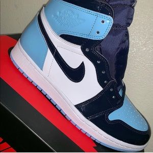 Air Jordan 1 High OG UNC Patent